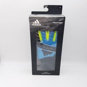 Adidas Predator Pro 'Finger Save' GK Gloves Size 8